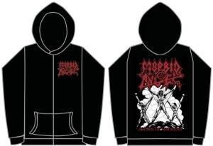 Morbid Angel (Altars Of Madness) Hoodie black Large