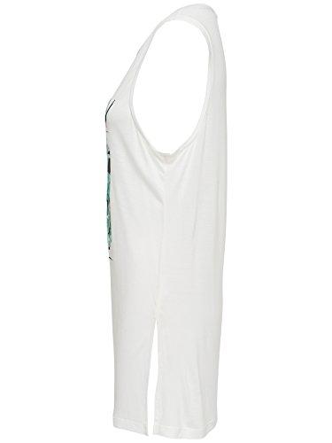 Only Damen T-Shirt Weiß