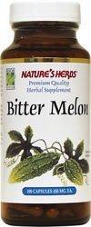 Nature's Herbs Melon Amer ( Bitter Melon ) x100Caps - Balsam Pear / Momordique