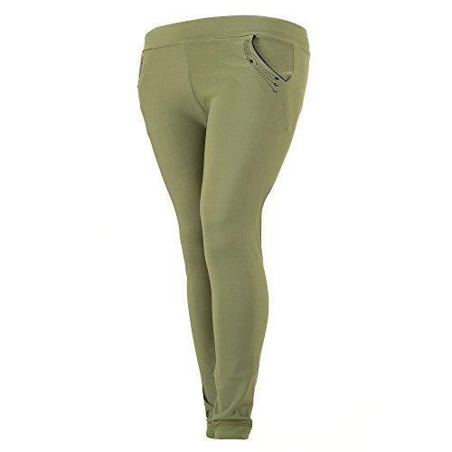 iTaL-dESiGn -  Pantaloni  - skinny - Donna Verde