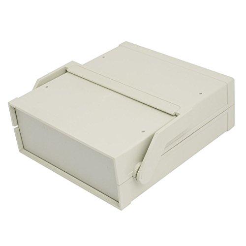 sourcing map 231mm x 210mm x 80mm en Plastique ABS Projet électronique Boîtier raccordement boîte