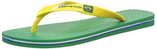 Ipanema Classica Brasil II Infradito da Uomo, Verde (Vert), 43/44