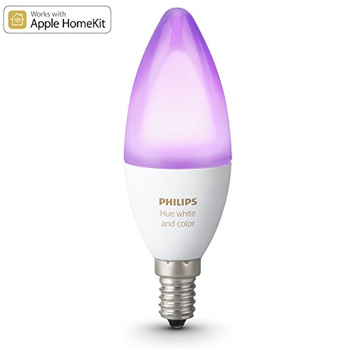 Philips Hue White Ambiance and Color RGBW LED E14 6,5W ZigBee Echo Alexa kompatibel