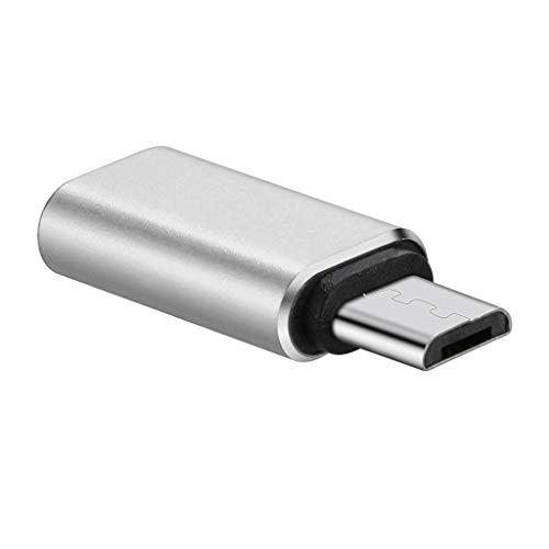 Jamicy  USB Typ C Adapter, Ersatztyp C USB C auf USB-A 3.0 Adapter Fast Adapter für DJI Osmo Pocket (Silber) 6p-audio-kabel