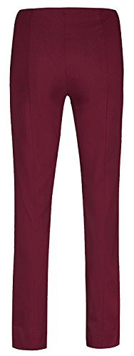 "Robell ""Ich will Marie"" - Pantaloni stretch, Slim Fit weinrot(56)"