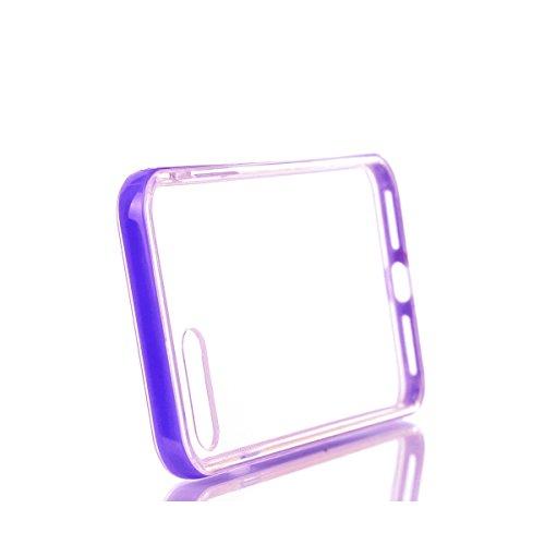 BONROY® Coque pour iPhone 7 Plus (5,5 Zoll),Housse en cuir pour iPhone 7 Plus (5,5 Zoll),imprimé étui en cuir PU Cuir Flip Magnétique Portefeuille Etui Housse de Protection Coque Étui Case Cover avec  pourpre