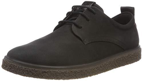 ECCO Damen CREPETRAY Ladies Sneaker, Schwarz (Black 2001), 37 EU - Ecco Black Tie