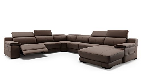 Leder Ecksofa Eckcouch Polstersofa Garnitur Couch Sofagarnitur Rundsofa Sitzecke