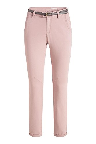 edc by ESPRIT 086cc1b003, Pantaloni Donna Rosa (Nude)