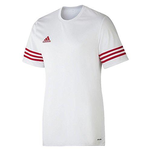 adidas Herren Trikot Entrada 14, weiß / rot , L, F50490