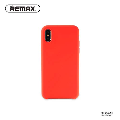 0 Remax Kellen Series Soft Feeling Super Thin TPU Matte Surface Back Cover case for Apple iPhone X/iPhone 10 / iPhone XS Red -