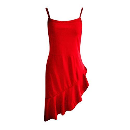(KIMODO Women Casual Sleeveless Backless Bandeau Dresses for Women Mini Dress Ruffles Evening Party Dress Summer Beach Sundress Dress)