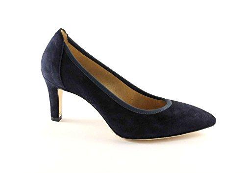 MELLUSO D078 notte scarpe donna decolletè elasticizzato punta sfilata 36