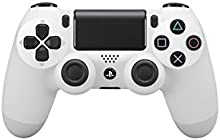 Sony - Mando Dual Shock 4, Color Blanco (PlayStation 4)