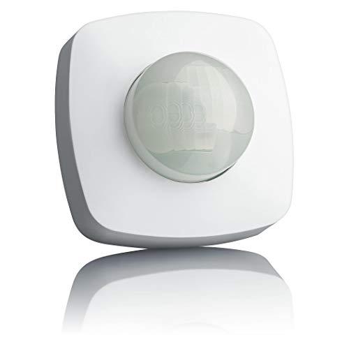 SEBSON® Bewegungsmelder Aussen IP65, Aufputz Decken Montage, programmierbar, 20x4m / 360°, LED geeignet, Infrarot Sensor mit 2 Sensoren