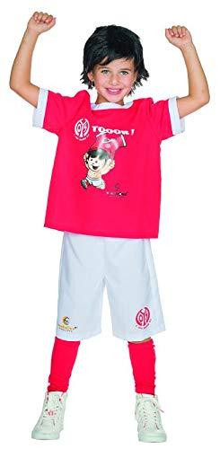 Rubie's 1. FSV Mainz 05 Mainzelmännchen Fan Kostüm Jungen Trikot Größe 116 Kinder Fußball Karneval Fanartikel (Trikot Kostüm Für Jungen)