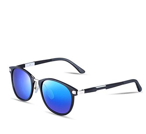 Vintage Wayfarer Al Mg Metallrahmen polarisierte Sonnenbrille
