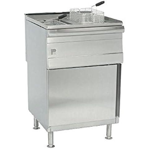 Parry gm731-p doppio gas propano friggitrice con piedistallo, pdgf - Gas Piedistallo