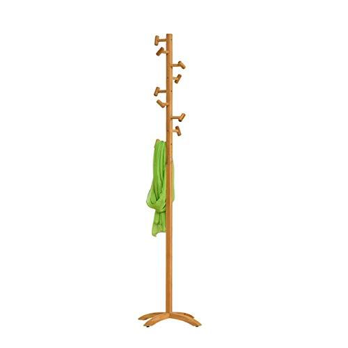 Perchero De Pie Material De Bambú Simplicidad Moderna