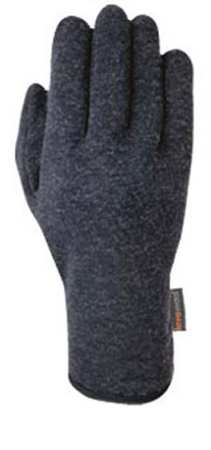Gordini Damen Lavawool Fleece Handschuh, damen, schwarz (Handschuh Gordini-schwarz)