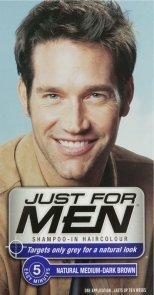 Just For Men Shampoo-In Hair Colour - Medium-Dark Brown