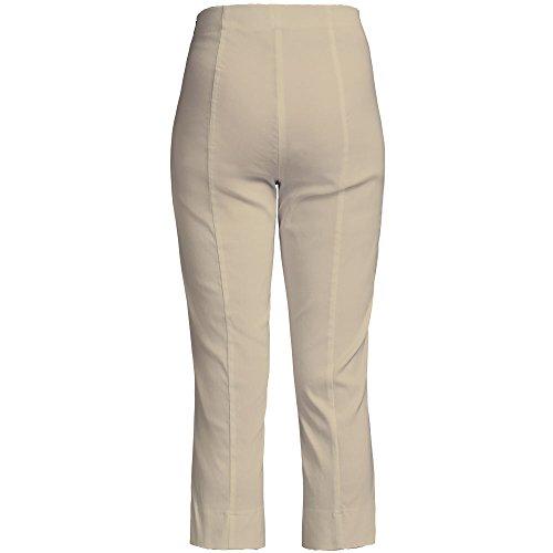 Robell Marie 07 Slim Fit Stretchhose Schlupfhose Damen Capri Hose #Marie 07  beige(14