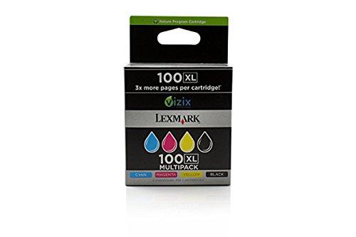 Preisvergleich Produktbild Lexmark Pinnacle Pro 901 (100XL / 14N1921E) - original - Tintenpatrone MultiPack (schwarz, cyan, magenta, gelb)