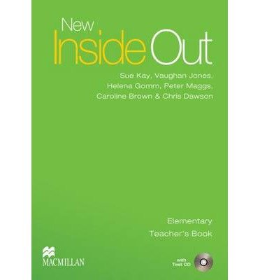 [(New Inside Out: Elementary: Teacher's Book with Test CD Pack)] [Author: Sue Kay] published on (January, 2007)