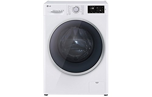 LG FH2U2HDN1 Freestan Ding Front Load 7kg 1200rpm A + + + 30% White Washing Machine - Washing Machines (Freestan Item, Front Load, A + + + 30%, A, B, White)