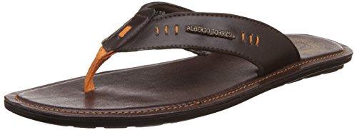Alberto Torresi Men's Black Hawaii Thong Sandals - 6 Uk/india (40 Eu)