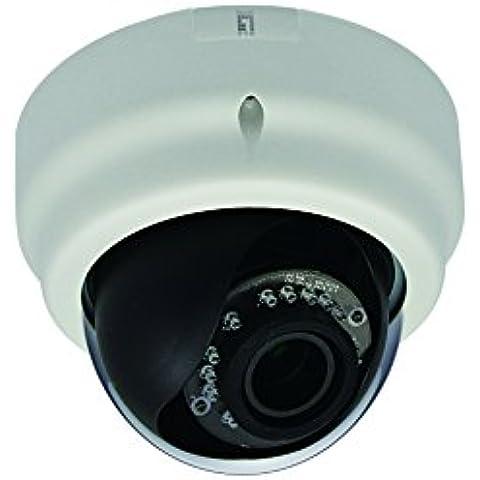 LevelOne FCS-3056 - Cámara de vigilancia (IP, Interior y exterior, Dome, Color blanco, Techo, 2048 x 1536