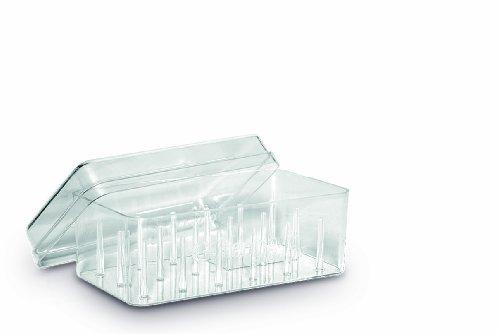 Gütermann Box für 18Spulen Nähgarn, Acryl, transparent