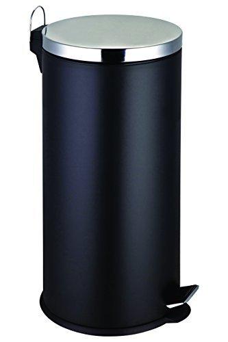 Premier Housewares Pedal Bin - 30 L, Black by Premier Housewares