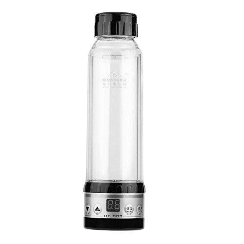 Preisvergleich Produktbild 12V 24V Auto Wasserkocher Auto Reise erhitzt Tasse Wasserkocher Heizung Flasche(Schwarz)