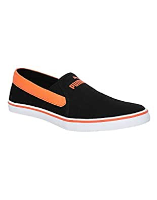 Puma Men's Funk Slip On 2 Idp Black and Firecracker Sneakers-6 UK/India (39 EU) (36843001)