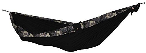TICKET TO THE MOON Hängematte, King size - schwarz/ camouflage
