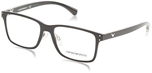 Emporio Armani Optical Frames Frame BLACK WITH DEMO LENS