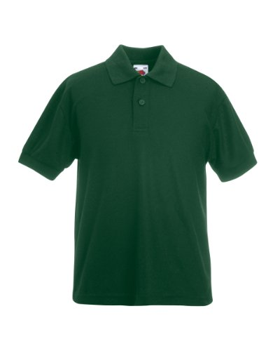FOTLChildrens Pikee-Poloshirt 65/35 (DE) Grün - Bottle Green