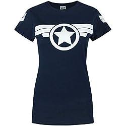 Official Captain America Super Soldier Women's T-Shirt (M)
