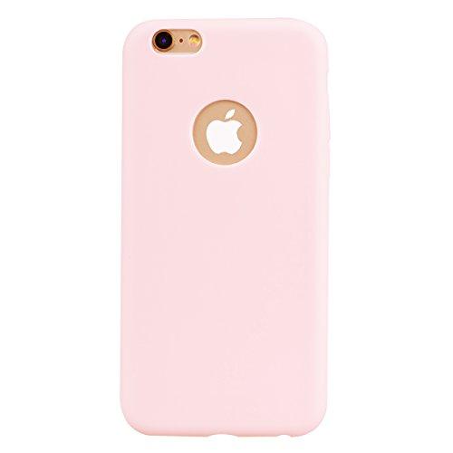 Apple iPhone 6 Hülle, Voguecase [Shockproof] [Fallschutz] Rüstung Schutz Etui Soft TPU Silikon Stoßfeste Protective Cover Case für Apple iPhone 6/6S 4.7(Dunkelblau) + Gratis Universal Eingabestift Pink