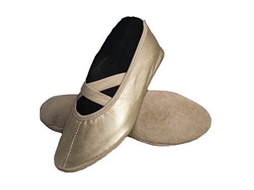 Yaro Balettschuhe, Gymnastikschuhe, Turnschuhe, Gold, Gr. 37