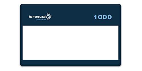 hansepuzzle 69228 Panorama-Puzzle: Muster, 1000 Teile in hochwertiger Kartonbox, Puzzle-Teile in wiederverschliessbarem Beutel.