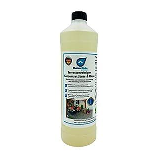 Terrassenreiniger Moosentferner Konzentrat Stein & Fliese Spezialreiniger zur gründlichen Reinigung Aller Terrassen