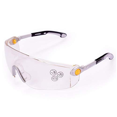 JQZLXLBYJ Schutzbrille Schutzbrille Arbeitsversicherung Spritzwassergeschützter Staub Sand Reiten Windschutzscheibe Männer Und Frauen