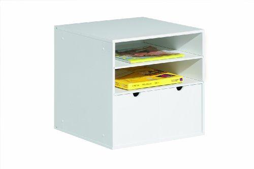 Links-Think-Design-Mobiletto-portaoggetti-CM112-2-cassetti-piccoli-Bianco