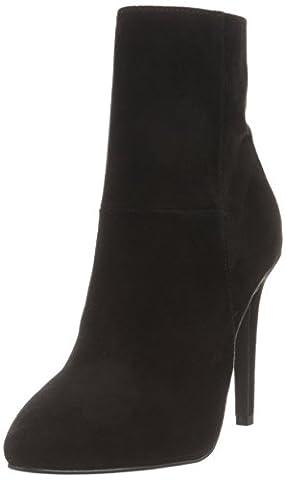 Bianco Damen Classic Stiletto Boot 26-49116 Kurzschaft Stiefel, Schwarz (Black), 39 EU