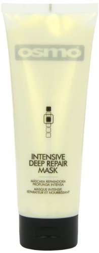 Osmo Intensive Deep Repair Mask - Ideal for Over Stressed, Heat Traumatised and Over Chemical Hair - 250 ml, 1er Pack (1 x 250 ml) - Deep Repair Mask