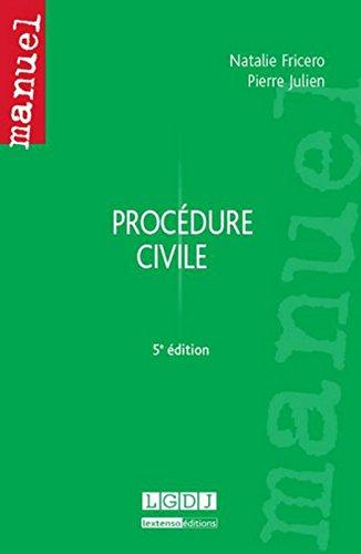 Procdure civile, 5me Ed.