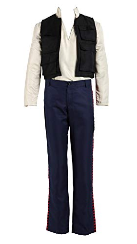 CHIUS Cosplay Costume Han Solo Complete Outfit Version 1 (Jedi Knight Outfit)