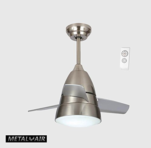 "Metal Air Pappu 36"" Ceiling Fan With LED Light"